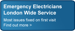 Emergency electricians - London wide service